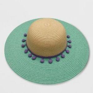  CAT & JACK  Girls Floppy Hat Size 12-24 Months
